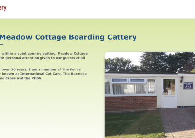 Meadow Cottage Boarding Cattery
